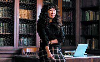 Η Σάντρα Οου πρωταγωνιστεί στη μίνι σειρά του Netflix «Η πρόεδρος».
