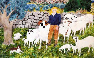 Ο πατέρας του Στέλιου Κουνιάρη στο έργο «Ο βοσκός».