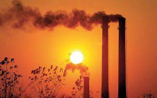 Οι νέες προτάσεις της επιτροπής στο πλαίσιο του Fit for 55 για τη μείωση των εκπομπών αερίων του θερμοκηπίου στα μέσα Ιουλίου και οι μεγάλες πυρκαγιές του Αυγούστου έφεραν στο προσκήνιο τους κινδύνους της κλιματικής αλλαγής, αλλά και το κόστος της πράσινης μετάβασης. (Φωτ. Reuters)