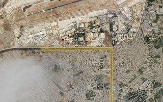Φωτ. Satellite imagery: Planet Labs, πηγή New York Times