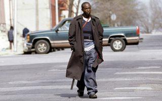 Ο Μάικλ Κ. Ουίλιαμς στον ρόλο του Ομάρ Λιτλ.