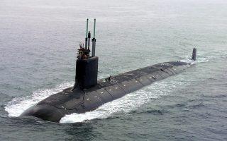 Υποβρύχιο του αμερικανικού ναυτικού Virginia-Class (Φωτ. USNavy)
