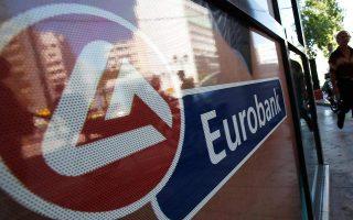 Από τις μετοχές της υψηλής κεφαλαιοποίησης, τη μεγαλύτερη άνοδο κατέγραψε η Eurobank (+2,22%).