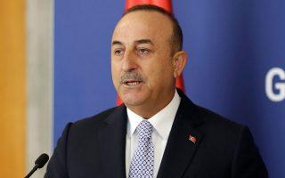«H Ελλάδα, στη Δυτική Θράκη, πρέπει να δώσει τέλος στις παρεμβατικές πολιτικές και πολιτικές καταπίεσης εναντίον των μουφτήδων που επέλεξαν οι ομοεθνείς μας», υποστήριξε με μήνυμά του στο Τwitter ο υπουργός Εξωτερικών της Τουρκίας, Μεβλούτ Τσαβούσογλου (φωτ. EPA 0/ ANDREJ CUKIC).