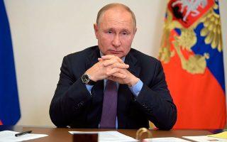 Φωτ. Alexei Druzhinin, Sputnik, Kremlin Pool Photo via AP