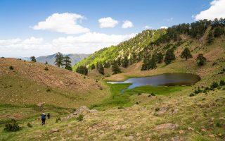 Λίμνες Φλέγγα, Βάλια Κάλντα. (Φωτογραφία: Νικόλας Μάστορας)