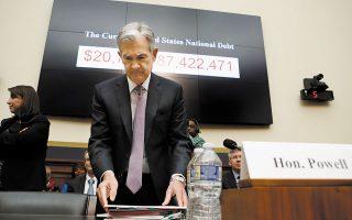 Οι Δημοκρατικοί καταδίκασαν τις κινήσεις της Fed, υπό τον Πάουελ, για τη μείωση των τραπεζικών κανονισμών μετά την οικονομική κρίση (φωτ. A.P.).