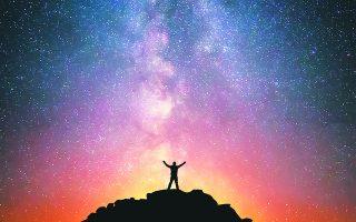"""«Ενας άνθρωπος είπε στο σύμπαν: """"Κύριε, υπάρχω!"""". """"Ναι, αλλά"""", απάντησε το σύμπαν, """"το γεγονός αυτό δεν μου έχει δημιουργήσει κάποιο αίσθημα υποχρέωσης""""».  Φωτ. SHUTTERSTOCK"""