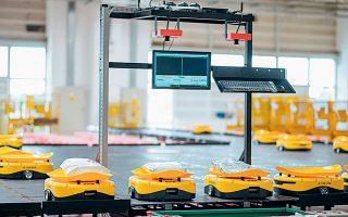 Πρόκειται για ένα σύστημα –το πρώτο του συγκεκριμένου είδους στην Ευρώπη– που αξιοποιεί τεχνολογίες τεχνητής νοημοσύνης για τη διαχείριση των αντικειμένων με πολύ υψηλή ταχύτητα και ασφάλεια.