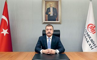 Ο νέος διοικητής της Τράπεζας της Τουρκίας, Σαχάπ Καβτσίογλου (φωτ.), θεωρείται οπαδός των ανορθόδοξων θεωριών του Ταγίπ Ερντογάν ότι τα υψηλά επιτόκια προκαλούν πληθωρισμό.