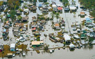 Οι ζημιές από τον τυφώνα «Αϊντα» σε Καραϊβική και ΗΠΑ αναμένεται να φτάσουν τουλάχιστον τα 18 δισ. δολάρια (φωτ. AP).
