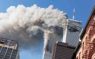 Υπάρχει άραγε κάποια συσχέτιση μεταξύ των συνωμοσιολόγων της 11ης Σεπτεμβρίου και της πανδημίας του κορωνοϊού; «Ναι», απαντά ο Μάικλ Σέρμερ. (Φωτ. A.P. Photo/Richard Drew)