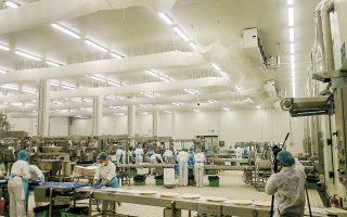 Η «Ελληνική Ζύμη» διαθέτει βιομηχανικές εγκαταστάσεις 43.250 τ.μ. στη Βιομηχανική Περιοχή Θεσσαλονίκης, στη Σίνδο. Εκεί βρίσκονται τα τρία εργοστάσιά της παραγωγής ζύμης σφολιάτας, κρουασάν, παραδοσιακών προϊόντων (χωριάτικα), μπουγάτσας, πίτσας και κουλουριού.
