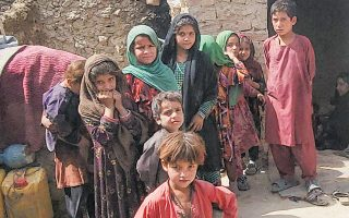 Οι καταγεγραμμένοι Αφγανοί που ζουν στο Πακιστάν είναι 1,4 εκατ. (φωτ. EPA)