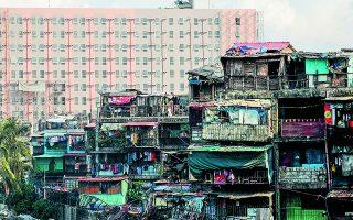 Η άναρχη αστική ανοικοδόμηση και η συνεχής οικοδόμηση στα όρια του αστικού ιστού έχουν ως αποτέλεσμα, οι σύγχρονες πόλεις με τα υποβαθμισμένα προάστια και τις παραγκουπόλεις-τέρατα να μοιάζουν με καρκινώματα.