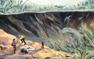 Εδώ και 40 χρόνια η επιστημονική κοινότητα μελετά την πρόσκρουση του μετεωρίτη Τσικουλούμπ, πριν από 66 εκατομμύρια χρόνια, στον σημερινό Κόλπο του Μεξικού (φωτ. Sally Deng / The New York Times).