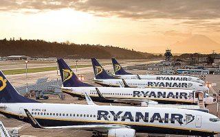 Η μετοχή της Ryanair ξεχώρισε στη χθεσινή ημέρα, καθώς πραγματοποίησε ράλι 8,27%.