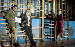 Η παράσταση «Οδύσσεια. Μια ιστορία για το Χόλιγουντ» του Κριστόφ Βαρλικόφσκι παρουσιάζεται στο Φεστιβάλ Αθηνών - Επιδαύρου.