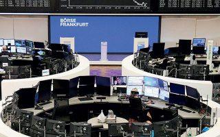 Ο δείκτης Xetra DAX της Φρανκ-φούρτης έκλεισε με πτώση 2,47%.