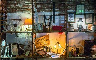 Βιομηχανικά εφήμερα: ένα μικρό μουσείο της κλωστοϋφαντουργικής ιστορίας της Σύρου. Φωτ. ΔΗΜΗΤΡΗΣ ΚΑΡΑΪΣΚΟΣ
