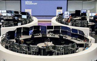 Στη Φρανκφούρτη ο DAX ενισχύθηκε 1,03%, στις 15.505 μονάδες.