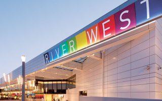 Η εταιρεία αναμένει αυξημένα έσοδα το β΄ εξάμηνο, καθώς ξεκίνησε η λειτουργία της επέκτασης του εμπορικού κέντρου River West στη Λ. Κηφισού (φωτ. ΑΠΕ).