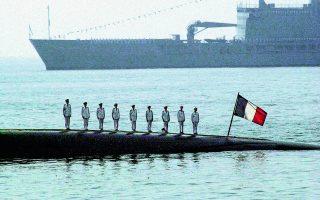 Η αιφνιδιαστική απόφαση της Αυστραλίας να αθετήσει το συμβόλαιο για την προμήθεια 12 γαλλικών υποβρυχίων προκάλεσε οργή στο Παρίσι. Φωτ. A.P. Photo / Sherwin Crasto