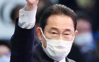Ο 64χρονος Φούμιο Κισίντα εξελέγη στην ηγεσία του κυβερνώντος Φιλελεύθερου Δημοκρατικού Κόμματος (LDP) στον δεύτερο γύρο, με 257 ψήφους έναντι 170 του βασικού ανθυποψηφίου του (φωτ. EPA/JIJI PRESS).