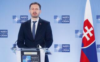 «Η Ελλάδα είναι ο τρίτος δημοφιλέστερος προορισμός για τους Σλοβάκους, οπότε μπορούμε να κάνουμε ακόμα περισσότερα για να δημιουργήσουμε επιχειρηματικές ευκαιρίες και στις δύο πλευρές», επισημαίνει στην «Κ» ο κ. Χέγκερ (φωτ. EPA / STEPHANIE LECOCQ / POOL).