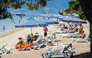 Η πληρότητα των ελληνικών ξενοδοχείων κατά την εβδομάδα 13-19 Σεπτεμβρίου έφτασε στο 63% (φωτ. A.P.).