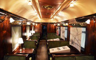 Το Simplon-Orient Express δρομολογήθηκε για πρώτη φορά στη χώρα μας το 1920. Η ανακατασκευή του βαγονιού ήταν ιδιαίτερα σύνθετη.