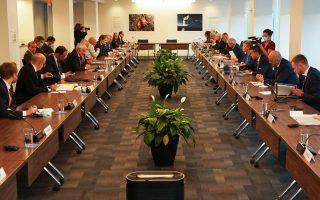 Ο κ. Νίκος Δένδιας συμμετείχε στη συνάντηση των υπουργών Εξωτερικών της Ε.Ε. στο περιθώριο της 76ης Γενικής Συνέλευσης του ΟΗΕ στη Νέα Υόρκη.