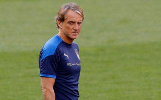 O Ρομπέρτο Μαντσίνι έκανε λόγο για κόπωση μετά τη νέα ισοπαλία της Ιταλίας, αυτήν τη φορά με την Ελβετία (φωτ. REUTERS / Arnd Wiegmann).