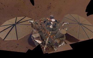 Insight. Πηγή NASA-JPL-Caltech/ ΑΠΕ-ΜΠΕ