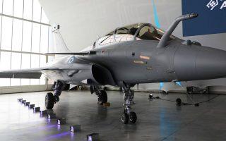 Τα επιπλέον γαλλικά μαχητικά που θα προμηθευθεί η Πολεμική Αεροπορία θα είναι καινούργια και όχι μεταχειρισμένα (φωτ. INTIME NEWS).