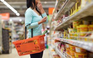Πολλοί φοβούνται ότι η επίδραση των ανατιμήσεων σε πρώτες ύλες και μεταφορικό κόστος στις τελικές τιμές καταναλωτή θα διαρκέσει τουλάχιστον έως την άνοιξη του 2022. Φωτ. Shutterstock