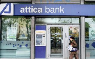 Αδιαμφισβήτητη (αρνητική) πρωταγωνίστρια του Χ.Α. χθες ήταν η μετοχή της Attica Bank, η οποία επανήλθε στη διαπραγμάτευση μετά το reverse split, κλείνοντας με απώλειες 24,38%.