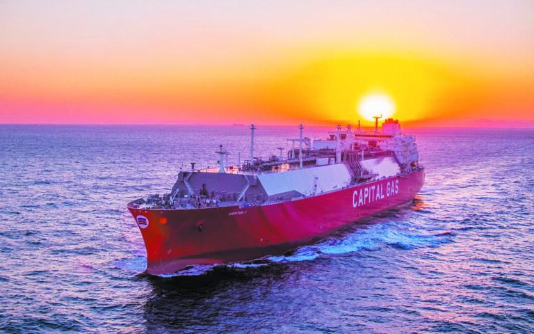 Η εκδότρια Capital Product Partners υλοποιεί ένα σημαντικό πρόγραμμα επενδύσεων σε έξι πλοία μεταφοράς υγροποιημένου αερίου (LNG) τελευταίας γενιάς.