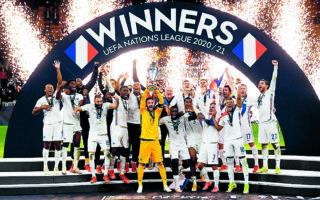 H Γαλλία κατέκτησε το πρώτο της Nations League, όμως το γκολ του Εμπαπέ ξεσήκωσε θύελλα διαμαρτυριών. (REUTERS / Alberto Lingria)