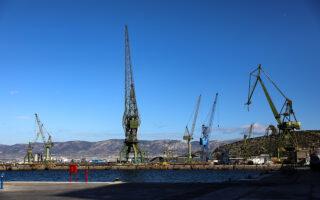 Μέσα στις επόμενες εβδομάδες αναμένεται να κατατεθεί το σχέδιο εξυγίανσης για τα ναυπηγεία Σκαραμαγκά στα αρμόδια δικαστήρια. Φωτ. ΙΝΤΙΜΕ ΝΕWS