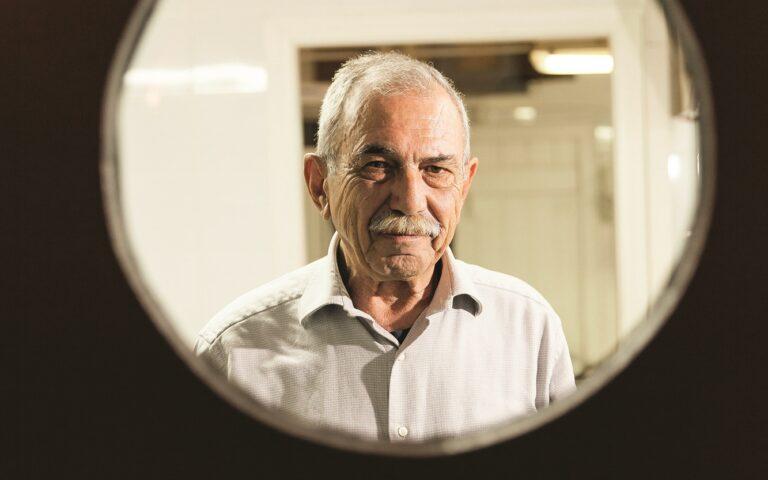 Ο Γιώργος Χατζηγιαννάκης είχε το δικό του όραμα και ανεξάντλητη επιμονή. (ΔΗΜΗΤΡΗΣ ΒΛΑΪΚΟΣ)