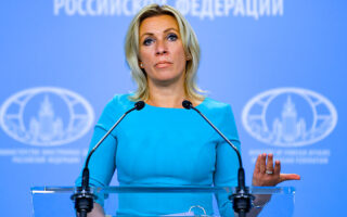Russian Foreign Ministry Press Service via AP