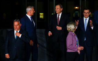 Διαφορετικές προοπτικές στο θέμα της ευρωπαϊκής αμυντικής πολιτικής φέρονται να έχουν οι ηγέτες των χωρών μελών της Ε.Ε. (φωτ.: Reuters).