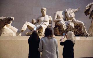 Σημαντική εξέλιξη στο ζήτημα των Γλυπτών του Παρθενώνα (φωτ. A.P. Photo / Matt Dunham).