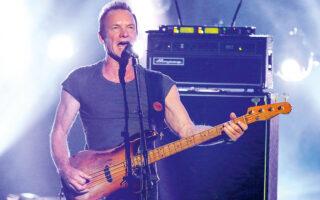 Τον Νοέμβριο θα κυκλοφορήσει  ο νέος δίσκος του Sting (φωτ. Matt Sayles / Invision / A.P.,).