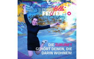 Η προεκλογική αφίσα της 23χρονης Μίλα Φέστερ που εξελέγη με τους Πράσινους. Είναι η πιο νέα βουλευτής του γερμανικού Kοινοβουλίου.