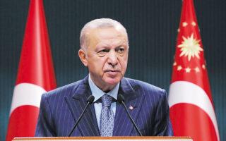 Στο ζήτημα της προφυλάκισης του επιχειρηματία και ακτιβιστή Οσμάν Καβαλά και της πιθανής έντονης αντίδρασης του Συμβουλίου της Ευρώπης, ο πρόεδρος της Τουρκίας έδειξε να αδιαφορεί για τις απόψεις του. (Murat Cetinmuhurdar/PPO/Handout via REUTERS)