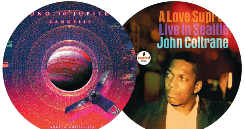 Vangelis, «Juno to Jupiter» και John Coltrane, «A love supreme: Live in Seattle».