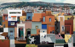 «How will we live together, Athens», αφιέρωμα στον Σπύρο Βασιλείου από τη φετινή συμμετοχή των Point Supreme στην Μπιενάλε Αρχιτεκτονικής Βενετίας.