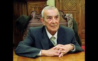 Ο μεγάλος Ισπανός φιλόλογος, ιστορικός και φιλέλληνας Λουίς Χιλ Φερνάντεθ.